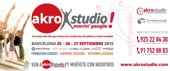 Moving People Barcelona - Akrostudio y Thomas Wellnes Group - Spain Pilates