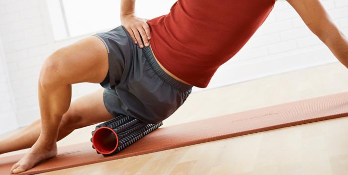 Liberación Miofascial de la Cadera con Foam Roller Pilates