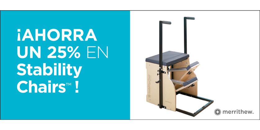 Promoción Stability Chair Pilates